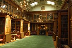 The New Library of the Royal College of Physicians of Edinburgh (Edinburgh, Scotland)