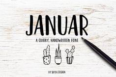 Fun handwritten font - Januar - Sans Serif