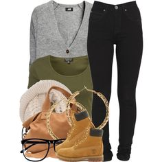 A fashion look from November 2013 featuring grey top, green crop top and high-waisted skinny jeans. Browse and shop related looks.