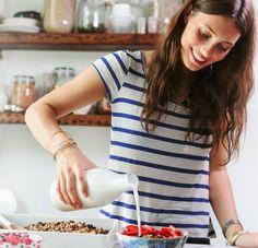 Food blogger headshot