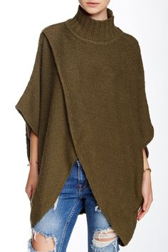 Free People | All Wrapped Up Poncho |   Sponsored by Nordstrom Rack. ==