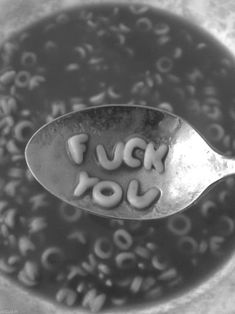 fuck you, by alphabet soup Aesthetic Grunge, Aesthetic Photo, Aesthetic Pictures, Photo Wall Collage, Picture Wall, Black And White Photo Wall, Black And White Aesthetic, Favorite Words, Aesthetic Wallpapers