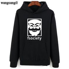 Check lastest price Mr Robot Gray Black 4XL Hooded Sweatshirt Men Hip Hop Warm Autumn Style  Hoodies Oversize men winter clothing just only $14.70 with free shipping worldwide  #hoodiessweatshirtsformen Plese click on picture to see our special price for you