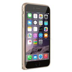 iPhone 6 Plus Metal Bumper Çerçeve Kılıf / Zamgo - Altın, gold renkli