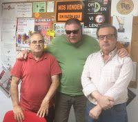 6/06/16 DILLUNS DE TERTÚLIA amb Antonio Arnau (Espai Alternatiu), Antonio Pérez Collado (CGT València i Ateneu llibertari Al Margen) i Rafa Rius (Ateneu llibertari Al Margen i Ràdio Malva). Parlem de la polèmica de l'Associació de veïns Tram 9 amb la Fira Alternativa de València, de la reforma laboral proposada pel Banc d'Espanya, de la proposta d'Àustria d'enviar a les persones refugiades a illes ...