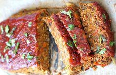 The best vegetarian lentil meatloaf recipe! – Foods and Drinks Healthy Veg Recipes, Lentil Recipes, Vegetarian Recipes, Lentil Loaf, Confort Food, Carne Picada, Vegan Nutrition, Meat Loaf, Vegetarian