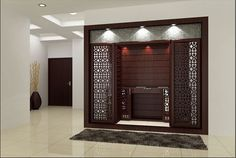 These Modern Pooja Room Designs Will Fill Your House with Divinity - Pooja Room and Rangoli Designs