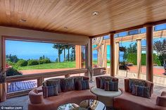 The 'wormhole': This unusual property in Mukilteo, Washington was designed in the 1970s for a race-car driver