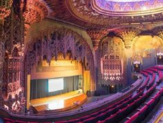 Gaze at the architectural wonder that is the United Artists' Theatre inside downtown LA's newly-opened Ace Hotel; the space will soon play host to concerts, shows and much more. Ace Hotel Los Angeles, Downtown Los Angeles, United Artists Theater, Artist Film, Douglas Fairbanks, Drawing Cartoon Characters, Mary Pickford, I Love La, Thing 1