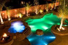 iluminacion para piscinas - Buscar con Google