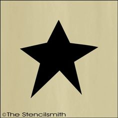 Primitive Star Stencil Do Believe Ill Be Needing ThisD