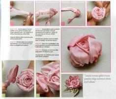 Gallery.ru / Фото #131 - МК и примеры вышитых роз лентами. - Innetta