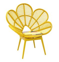 Love Chair Mustard