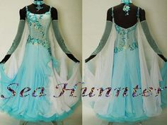 Ballroom Everday Watlz Tango Standard Quickstep Foxstep Dance Dress US 12 UK 14 | eBay
