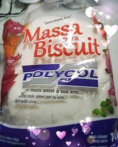 SILVIA SÓ BISCUIT: Sempre uso nas minhas artes massa de biscuit Polyc...
