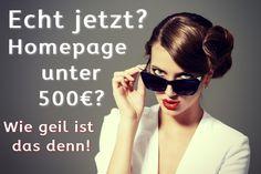 Eigene Homepage für unter 500€! Dein Unternehmen braucht eine Top-Homepage!