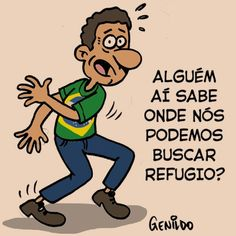 "IRAM DE OLIVEIRA - ""opinião"": Charge: ""socorro"""