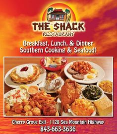 The Shack Restaurant: Cherry Grove Beach, SC BEST AND CHEAPEST PLACE TO EAT! ITS AMAZING!!!