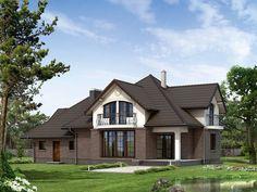 Projekt Bachus 10 (205,53 m2) to reprezentacyjny projekt domu z użytkowym poddaszem i podpiwniczeniem. Pełna prezentacja projektu dostępna jest na stronie: https://www.domywstylu.pl/projekt-domu-bachus_10.php. #bachus #projekty #projekt #gotowe #typowe #domy #domywstylu #mtmstyl #home #houses #architektura #interiors #insides #wnętrza #aranżacje