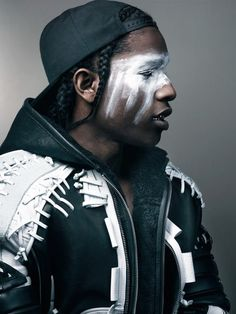 A$AP Rocky   Interview Magazine   F.TAPE   Fashion Directory