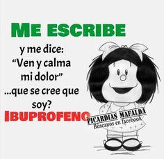 Funny Cartoons, Funny Memes, Jokes, Words Quotes, Life Quotes, Mafalda Quotes, Funny Note, Humor Mexicano, Pinterest Memes