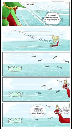 The Legend of Zelda: The Wind Waker Yeah...I'm guilty of doing this