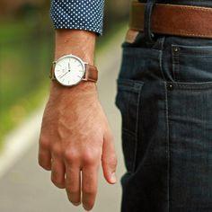 北欧の洗練されたデザインが魅力。『Daniel Wellington』。革ベルトの腕時計 ブランド