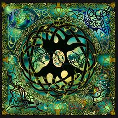Celtic Tree of Life - Part of me is considering getting a symplified tatoo of this symbol.