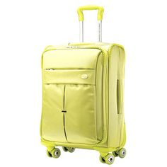 I pinned this Colora Spinner Suitcase from the Effortless Style Interiors event at Joss and Main!