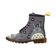 Custom Totoro PU Leather Boots. Made only for My Neighbor Totoro Fans! Don't miss this collection. Click the link to order your favorite items.