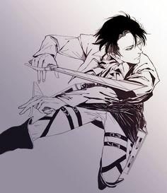 Rivaille (Levi) Ackerman | Shingeki no Kyojin | Attack on Titan | ♤ Anime ♤