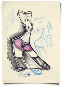 Frank Josten, ilustrador alemán especializado en el diseño de personajes. #CharacterDesign #ilustration