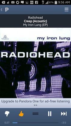 Radiohead Creep My Iron Lung Live Acoustic 1994