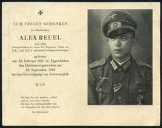 orig. WK2 STERBEBILD - DEATH CARD - OFFIZIER - Kp. Chef - ORDEN - EK1 TOP FOTO