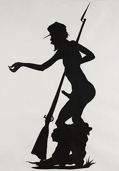 Kara Walker - 'Shiny Penny' - The Seavest Collection African American Artist, American Artists, Kara Walker, Anime Girl Drawings, Figure Painting, Black Art, Contemporary, Modern, Figurative