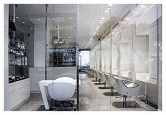 beauty salon - white sleek