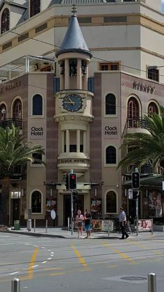 The Clock Hotel in Surfers Paradise, Gold Coast, Australia
