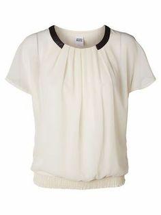 BIBBI S/S TOP VERO MODA #veromoda #top #tee #white #fashion @Veronica MODA