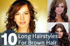 Top 10 Long Hairstyles For Brown Hair eSalon.com