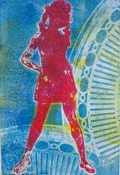Secrets for Powerful Gelatin Prints enjoy my tips, hints and ideas for fabulous gelatin printmaking - Linda Germain Printmaking