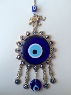 Evil eye wall decor - turkish evil eye by UrbanJewelleryShop on Etsy