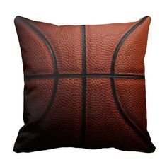 Basketball Pillow for the sports fan.  Click on the artist's link.