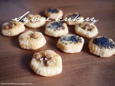 Laskominy od Maryny: Sýrové krekery