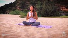 Meet your Instructors 🤙 ・・・ So grateful to for her amazing yin class in the app! Filmed at - 🙏🌈🌴🌺 Waimea Bay, Yin Yoga, Workout Challenge, Grateful, Beach Mat, Hawaii, Surfing, Outdoor Blanket, App