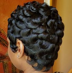 Short Curly Hairstyles For African American Women