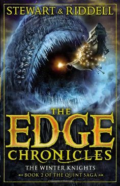 The Edge Chronicles 2: The Winter Knights: Book 2 of the Quint Saga by Paul Stewart http://www.amazon.ca/dp/0552569631/ref=cm_sw_r_pi_dp_LBo2tb1SJ0GQ1G19
