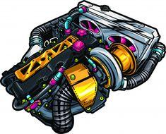 Discover thousands of Premium vectors available in AI and EPS formats Cool Car Drawings, Graffiti Pictures, Dope Cartoon Art, Stoner Art, Street Racing Cars, Custom Hot Wheels, Graffiti Wallpaper, Car Posters, Car Images