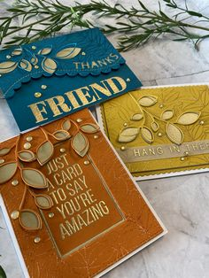 Tone on Tone with Simon Says Stamp's XL Greetings 2 Simon Says Stamp, Distress Oxide Ink, Gold Confetti, Sayings, Crane, Note Cards, Amazing, About Me Blog, Cricut