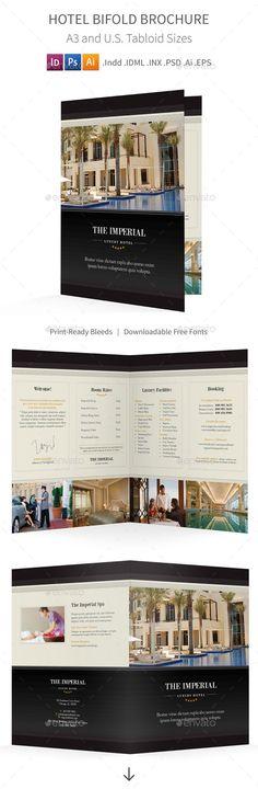 Academy Bifold  Halffold Brochure  Brochures And Brochure Template