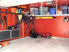 Overhead storage for the garage - we need it.